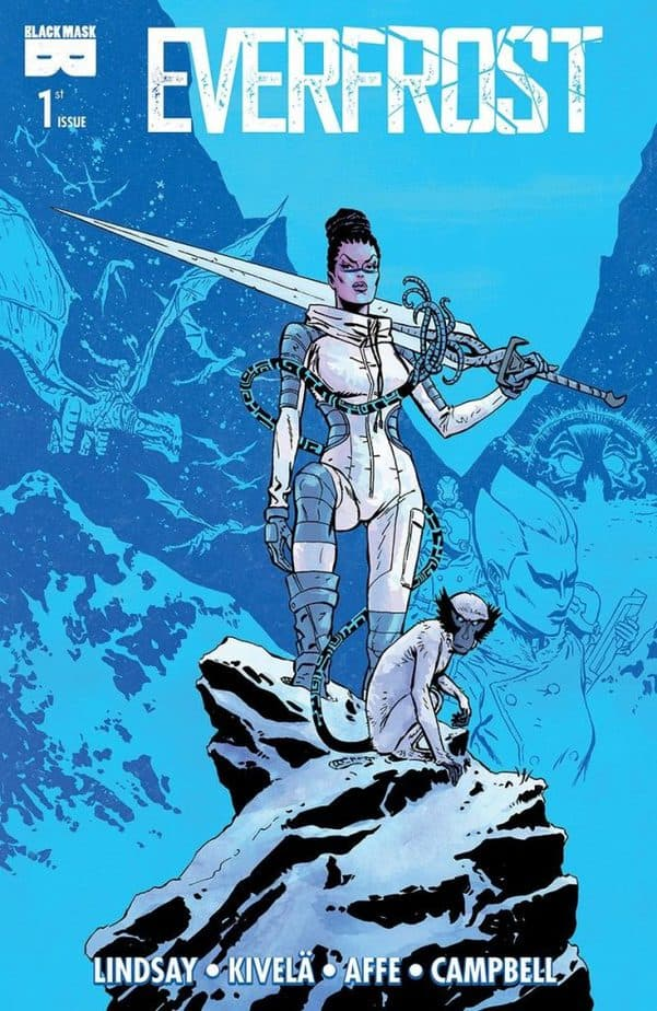 Everfrost #1 front cover, courtesy of Black Mask Studios