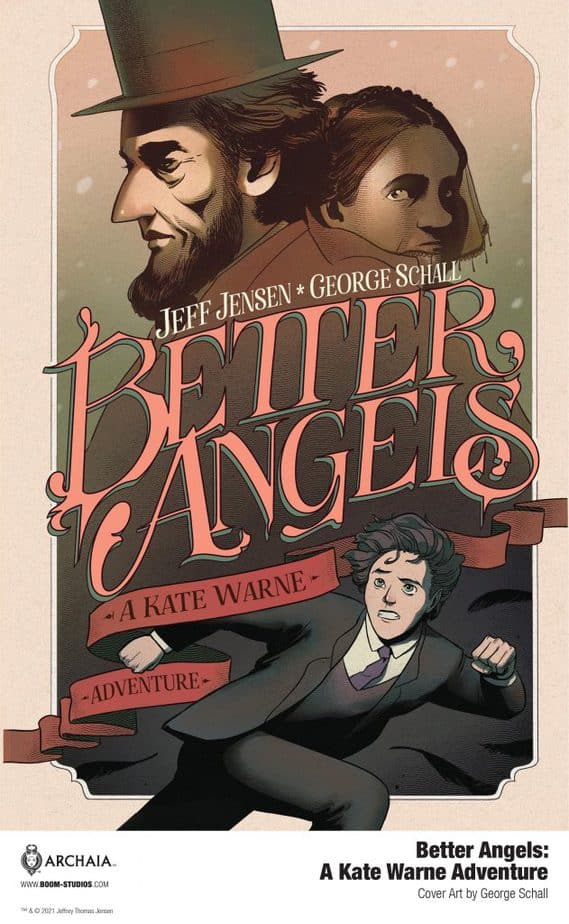 Better Angels comic book review