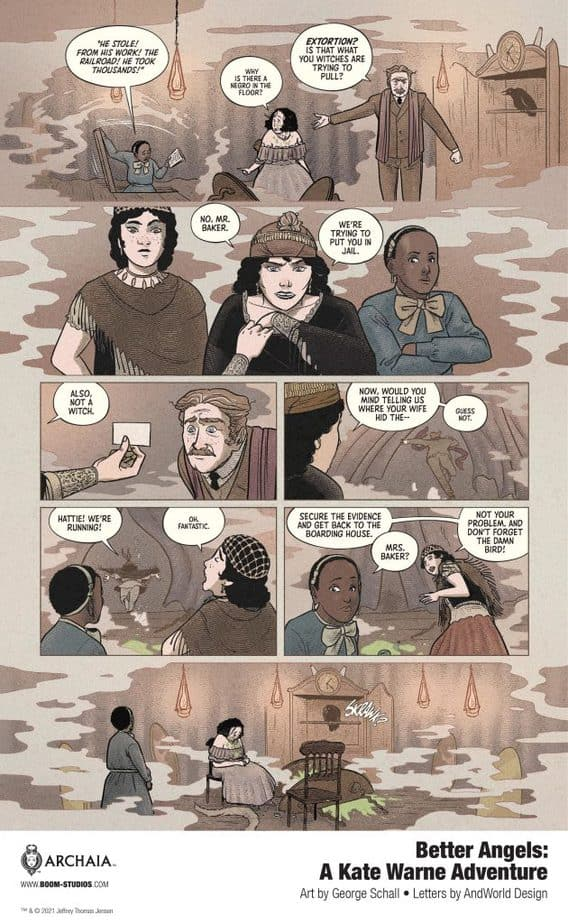 8 Page Preview: Your First Look at America's First Female Detective in BETTER ANGELS 4