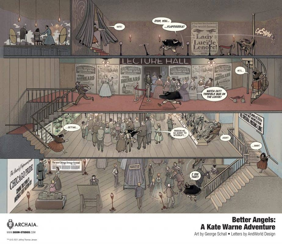 8 Page Preview: Your First Look at America's First Female Detective in BETTER ANGELS 3