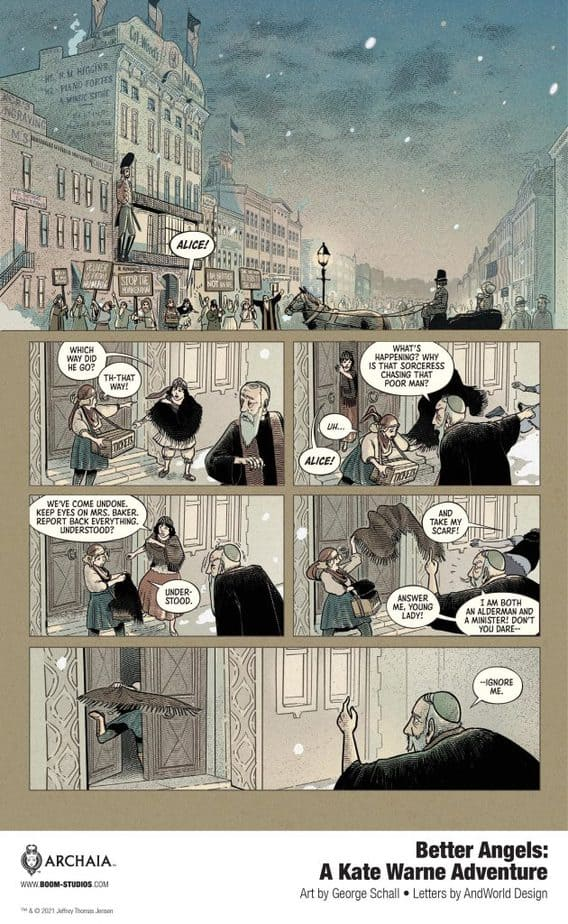 8 Page Preview: Your First Look at America's First Female Detective in BETTER ANGELS 2