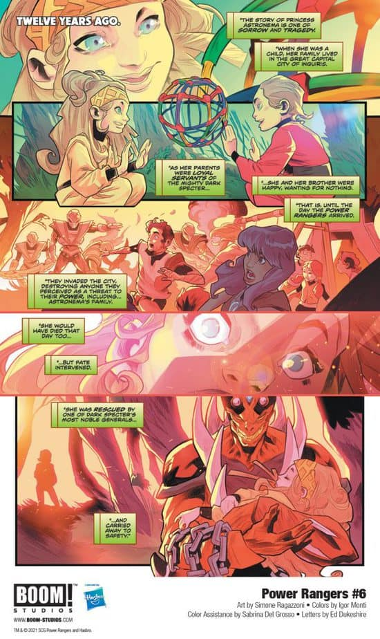 5 Page Preview: The Power Rangers Team Up with the Princess of Evil in Power Rangers #6 5