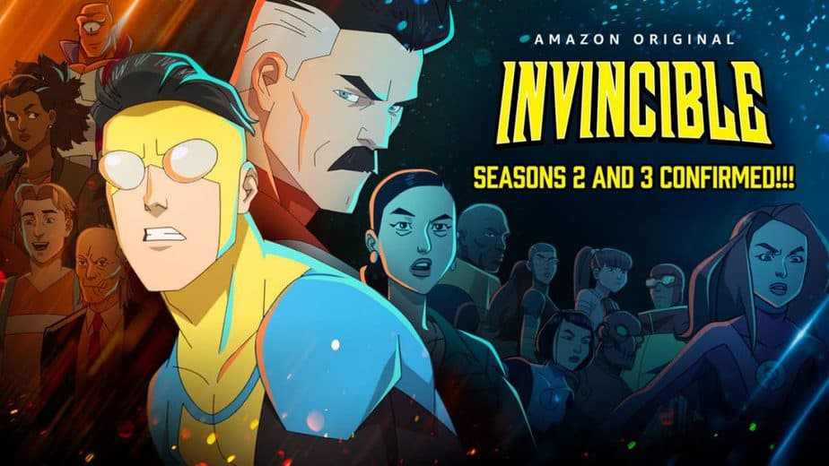 Invincible Seasons 2 and 3 Confirmed