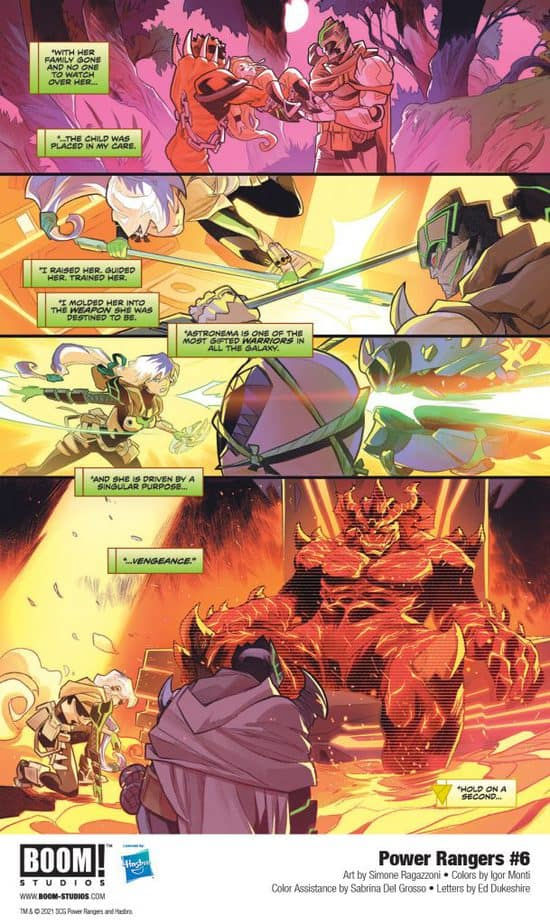 5 Page Preview: The Power Rangers Team Up with the Princess of Evil in Power Rangers #6 4