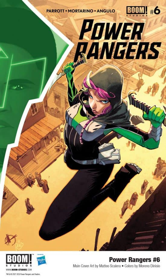 5 Page Preview: The Power Rangers Team Up with Astronema in Power Rangers #6
