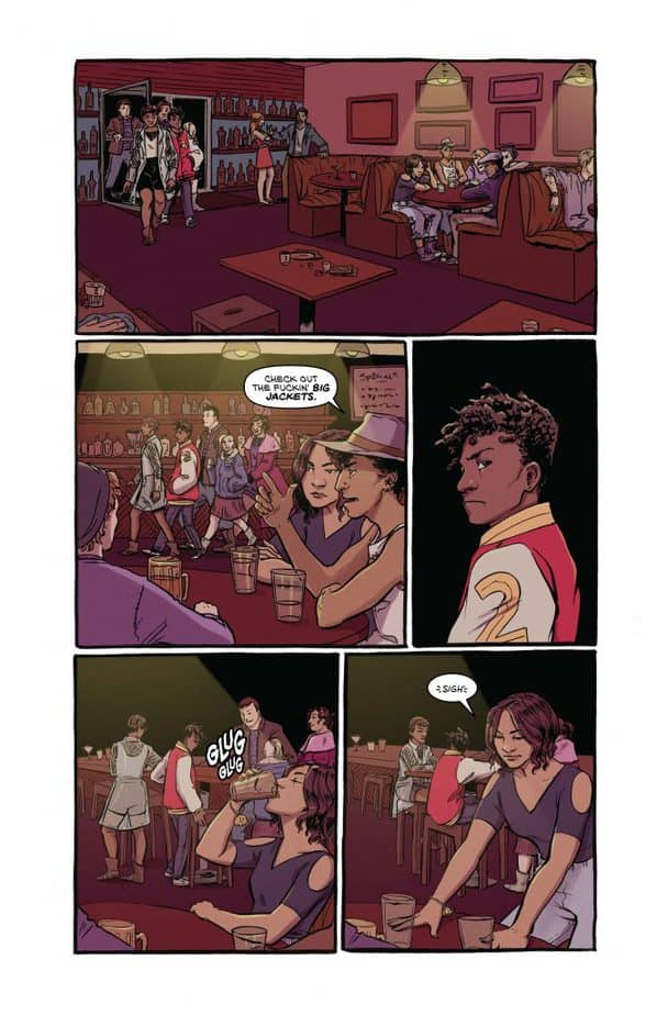 REVIEW: 20 Fists #1 Hits Hard with Quiet Drama 2