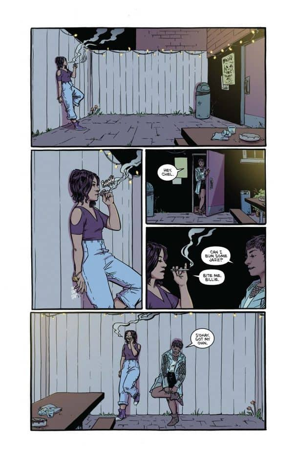 20 Fists Comic Book Pages
