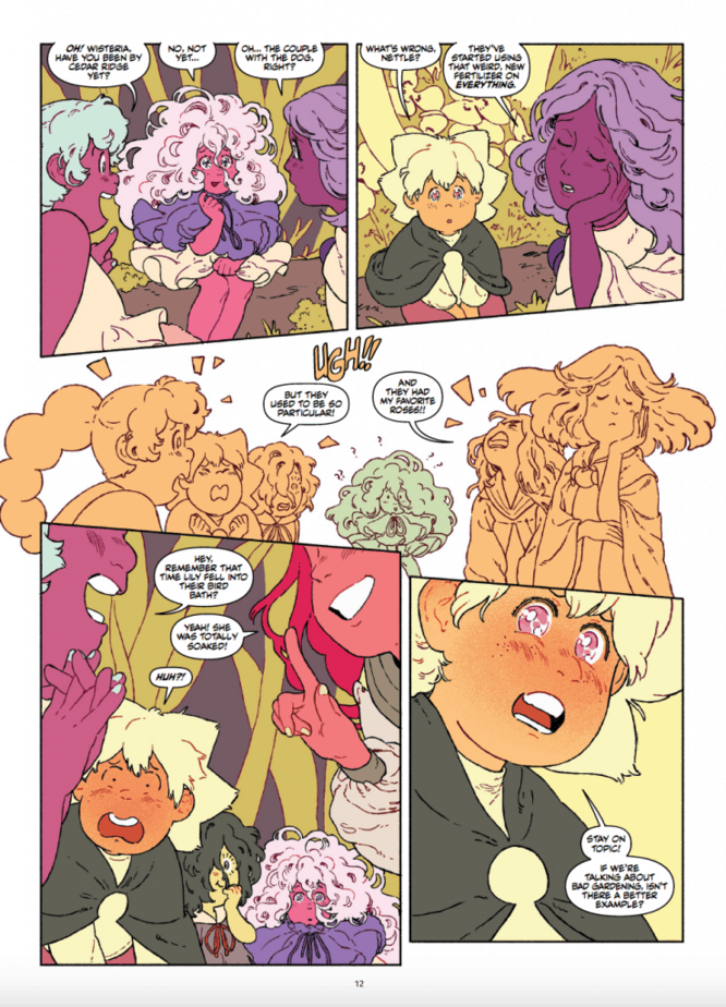 Sprite and the Gardener (Oni Press) is Kind Hearted and Ambitious 2