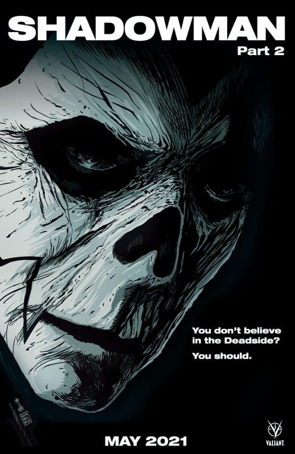 EXCLUSIVE FIRST REVIEW: Shadowman #2 lures you into the Deadside 2
