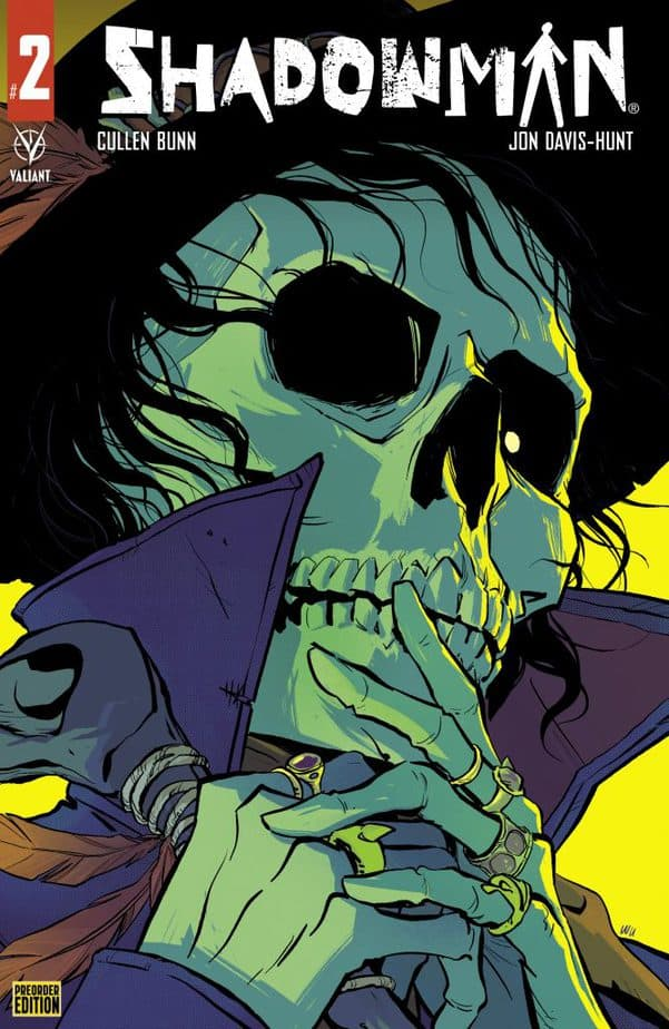 EXCLUSIVE FIRST REVIEW: Shadowman #2 lures you into the Deadside 3
