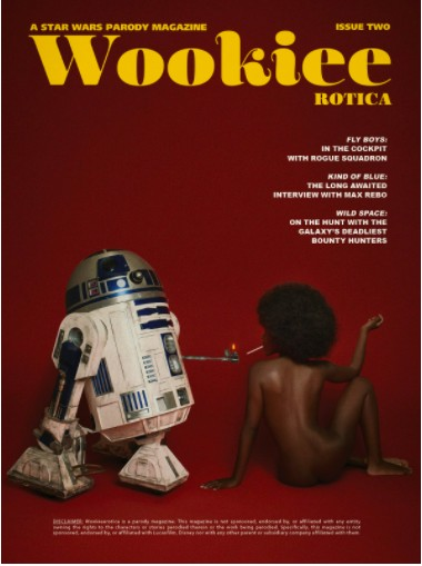 Wookieerotica Issue 2, the Magazine filled with Star Wars Erotica (yes that's a thing), is Here! 3