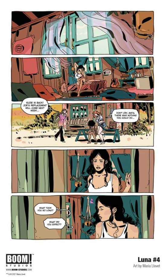 5 Page Preview: BOOM! Studios unveils a first look at Luna #4 2