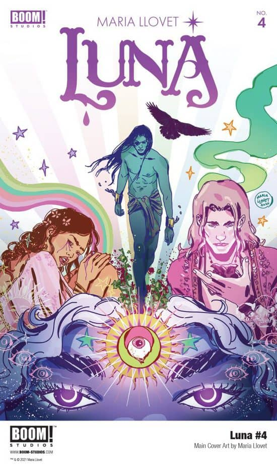 BOOM! Studios revealed today a first look at LUNA #4