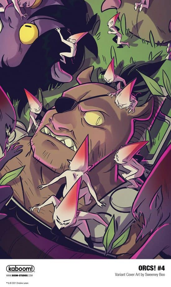 6 Page Preview: A Dangerous New Enemy in Christine Larsen's ORCS! #4 7