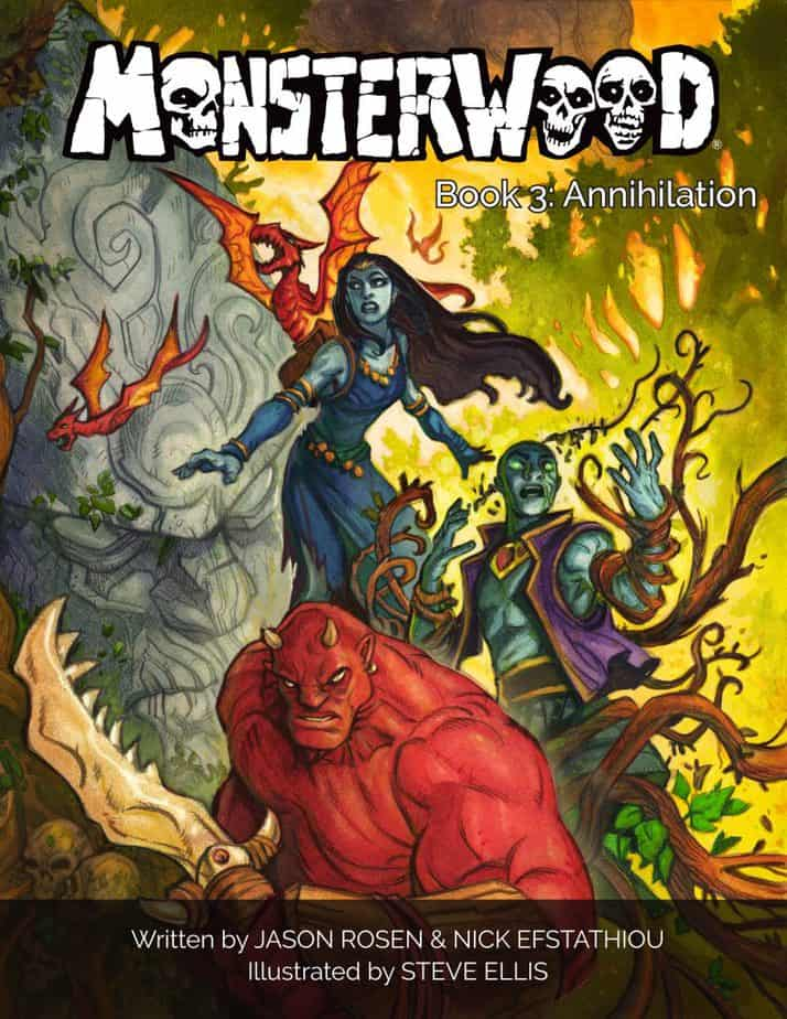 Indie Comics News: Monsterwood 3 bares its Fangs as it Launches on Kickstarter