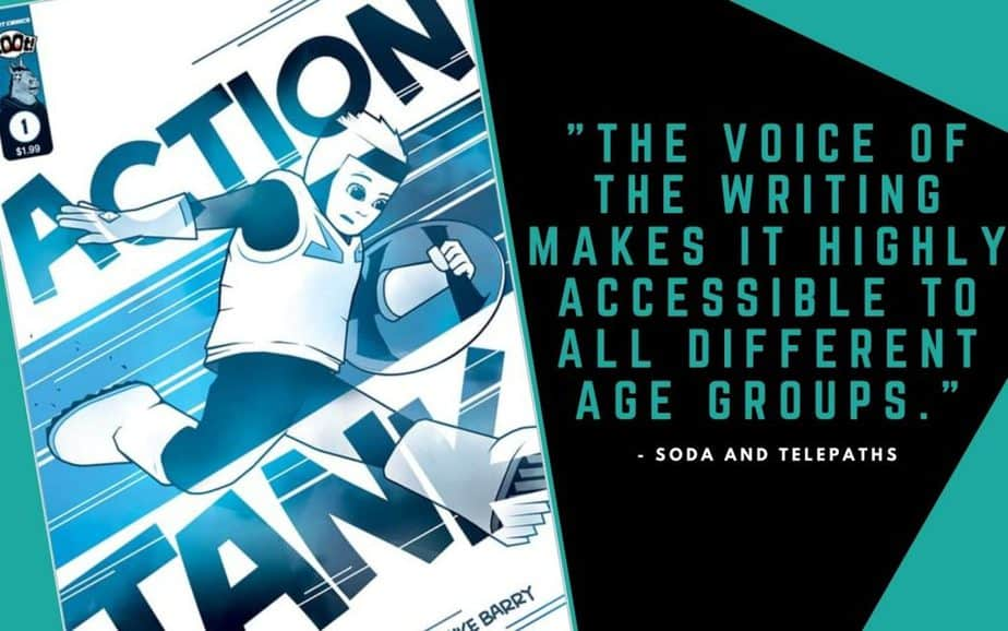 Action Tank #1 Comic Book Review