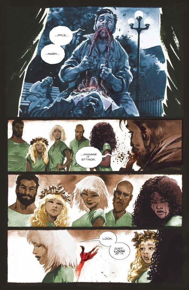 REVIEW: Basilisk #2 is Beautifully Unsettling 2
