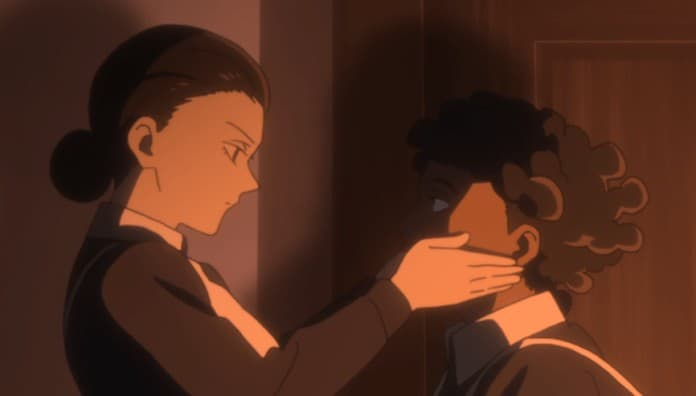 25 Creepy Anime Characters: Isabella and Krone – The Promised Neverland