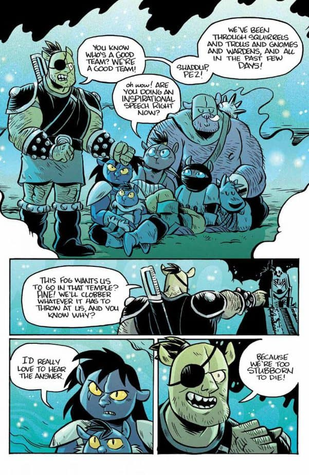 REVIEW: ORCS! #6 Brings Volume 1 to a Triumphant End 2