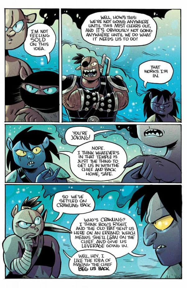 REVIEW: ORCS! #6 Brings Volume 1 to a Triumphant End 3