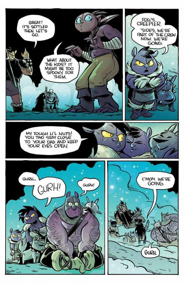 REVIEW: ORCS! #6 Brings Volume 1 to a Triumphant End 4