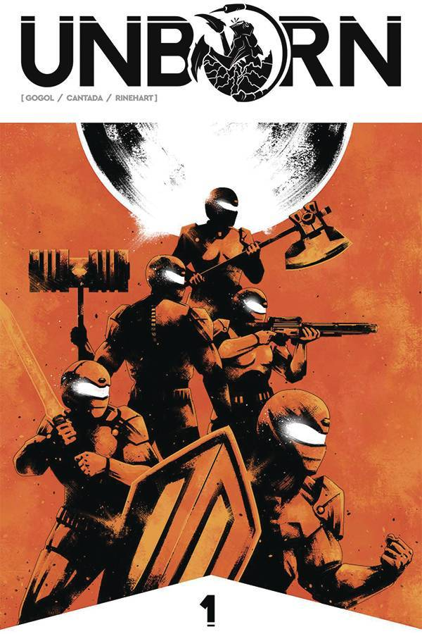 Power Rangers meets Aliens in Unborn from Frank Gogol and Source Point Press