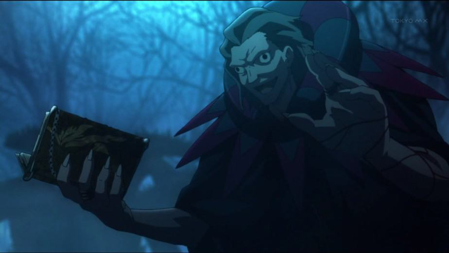 25 Creepy Anime Characters: Caster – Fate/Zero