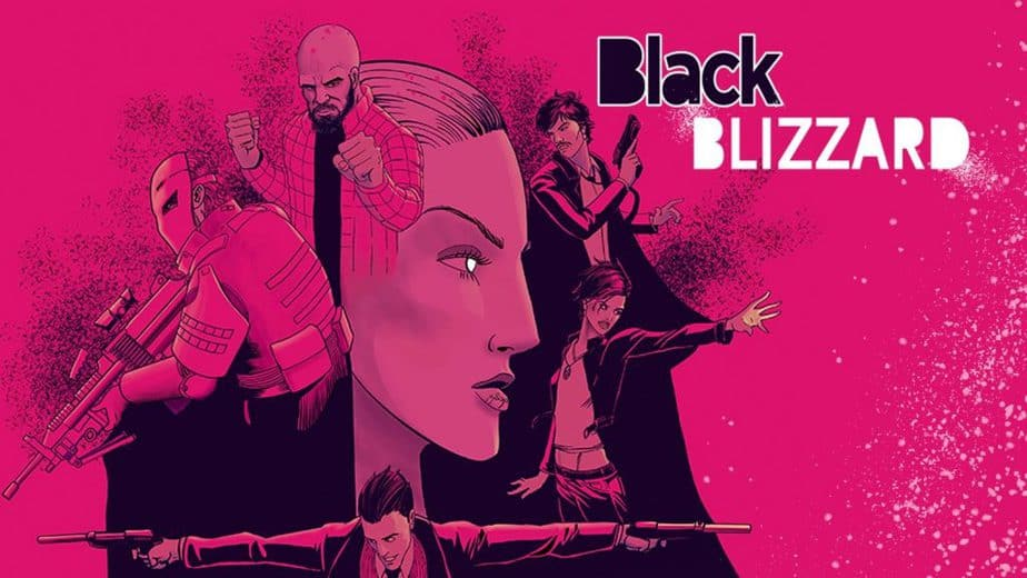 Indie Comics News 16/7/21: Occult Crime Comic Black Blizzard by Aaron Reese