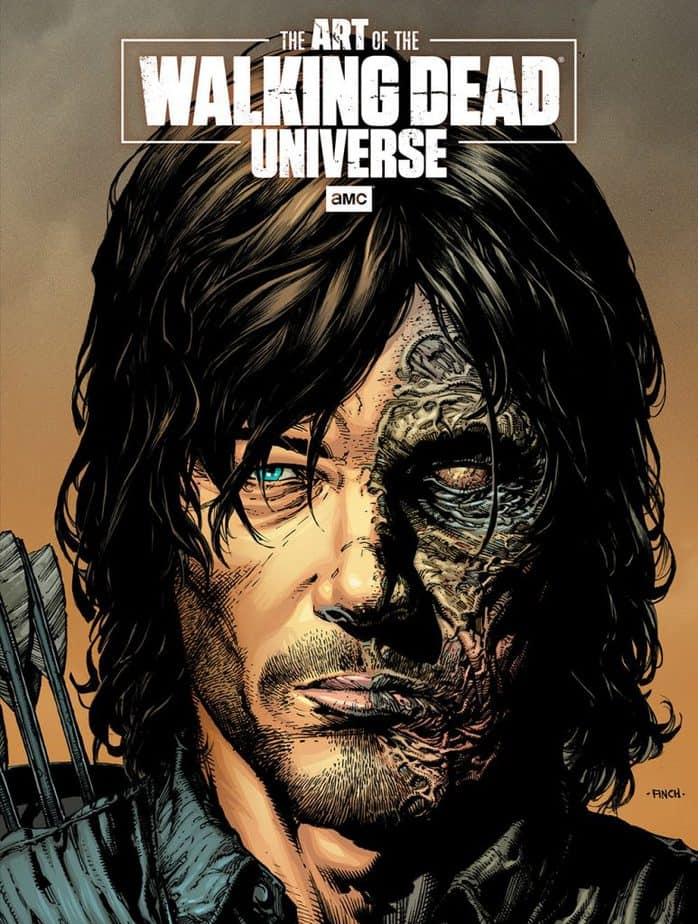 Indie Comics News: Superstar Artists David Finch and Dave McCaig Illustrate Daryl Dixon Limited Edition Cover to the Art of AMC's Walking Dead Universe