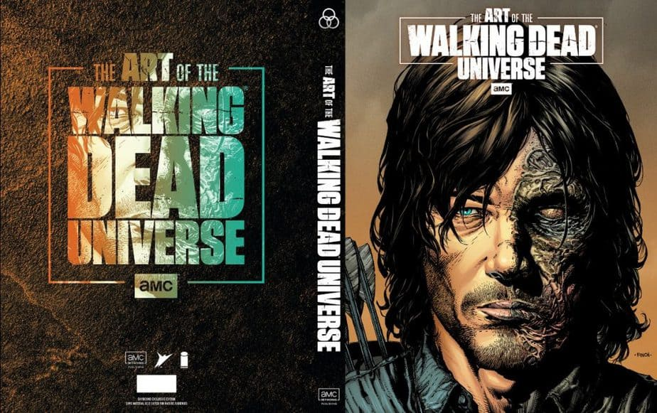 Superstar Artists David Finch and Dave McCaig Illustrate Daryl Dixon Limited Edition Cover to the Art of AMC's Walking Dead Universe