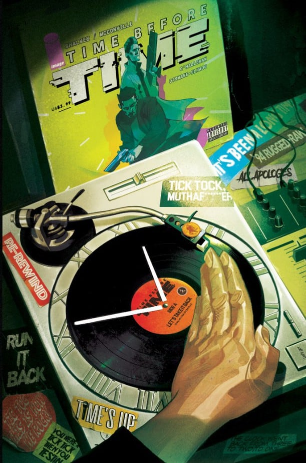 Indie Comics News: Time Before Time #6 One Shot Story by Declan Shalvey, Rory McConville and Joe Palmer