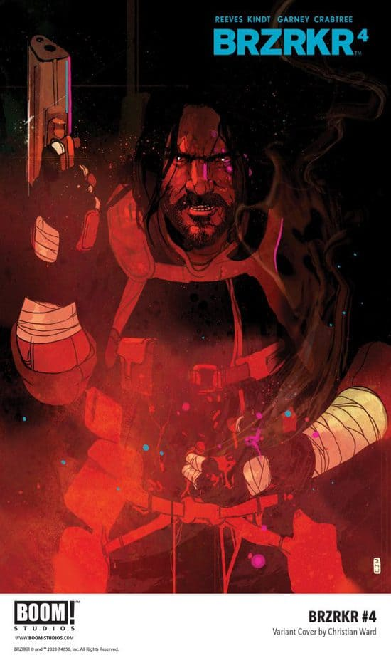 Indie Comics News: BOOM! Studios reveal first look at BRZRKR #4 with 2 Variant Covers and 5 Preview Pages