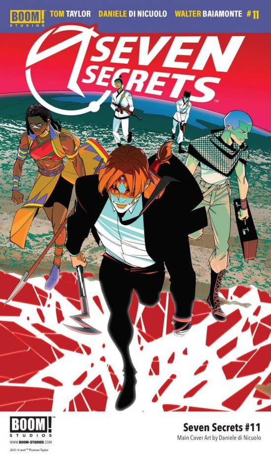 Indie Comics News: 2 Variant Covers and 5 Preview Pages announced for Seven Secrets #11