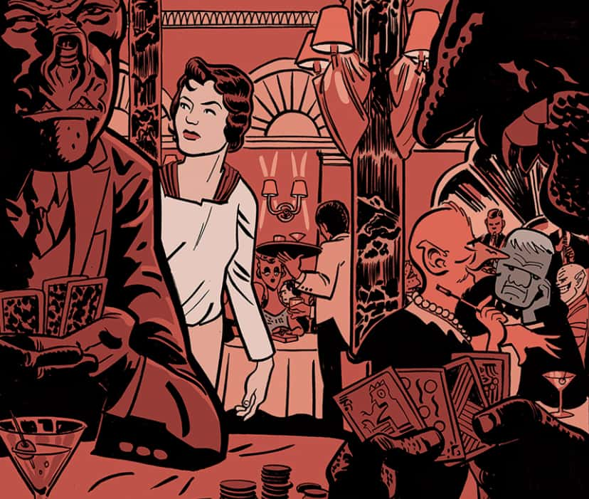 INTERVIEW: Russell Olson brings aliens to the Jazz Age in GATEWAY CITY