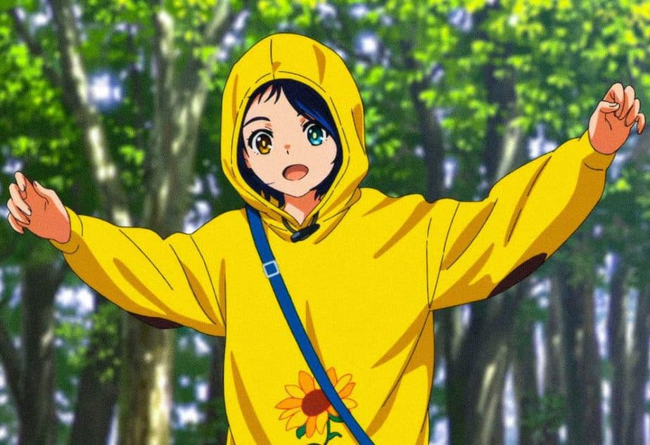 55 Cutest Anime Characters: Ai Ohto - Wonder Egg Priority