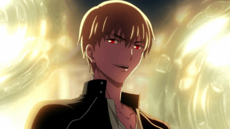41 Blonde Anime Characters: Gilgamesh - Fate/Stay Night: Unlimited Blade Works