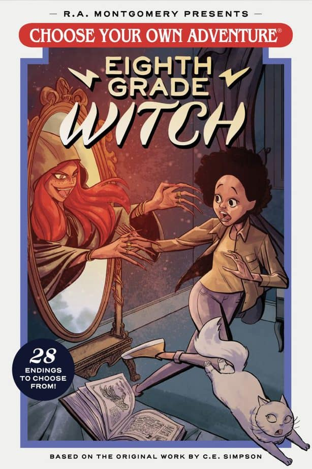 REVIEW: Choose Your Own Adventure, Eighth Grade Witch is a Rockin Good Time