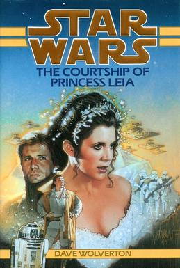 35 Best Star Wars Legends Books: The Courtship of Princess Leia
