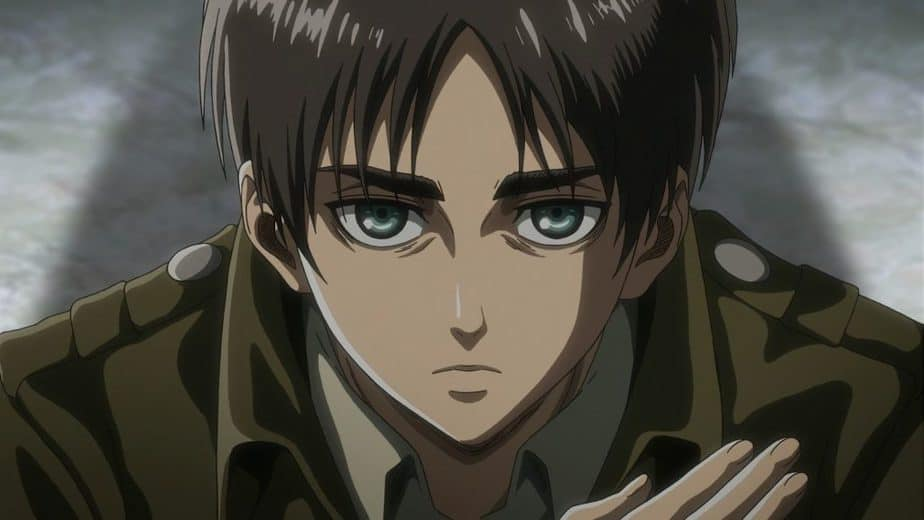 31 Anime Characters with Brown Hair: Eren Yeager/Jaeger - Attack on the Titan