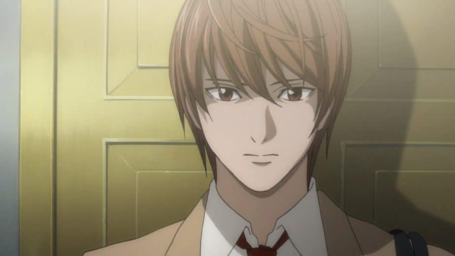 31 Anime Characters with Brown Hair: Light - Death Note