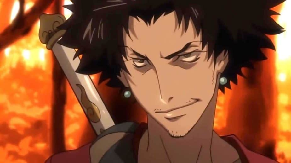 31 Anime Characters with Brown Hair: Mugen - Samurai Champloo