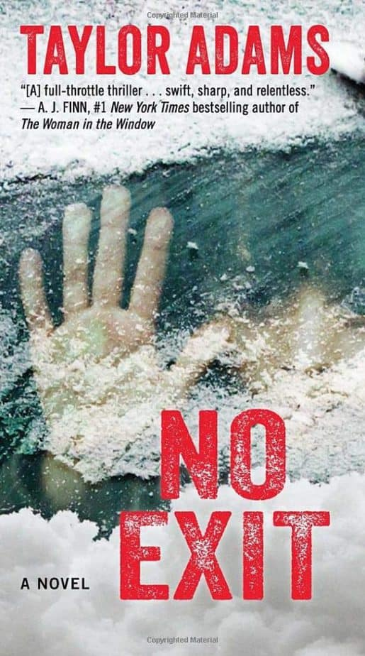 REVIEW: NO EXIT by Taylor Adams - A Thriller jacked with Twists and Turns