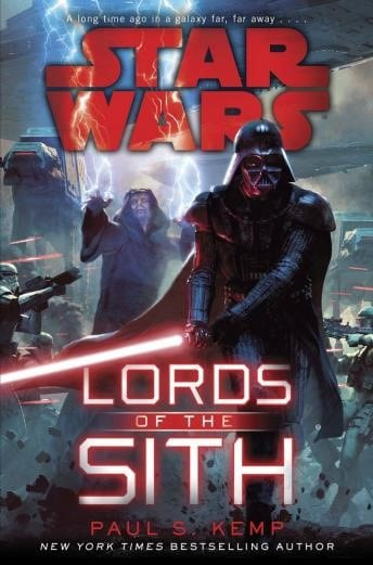 27 Best Star Wars Audiobooks: Lords of the Sith by Paul S. Kemp