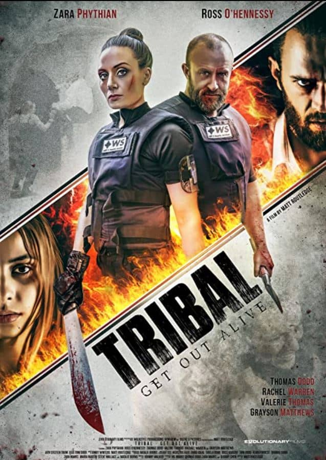 Tribal Out Alive (2020), starring Zara Phythian
