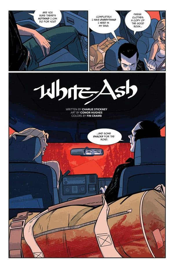 White Ash Volume 1 Has Legendary Lore With Charismatic Characters 1